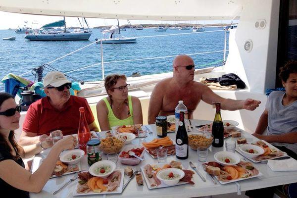 Les îles du Ponant en catamaran