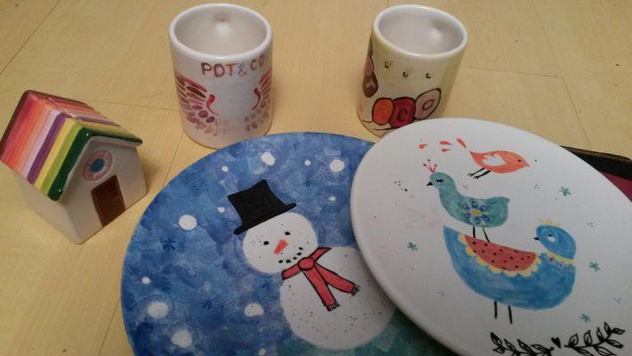 Assortiment assiette + mug