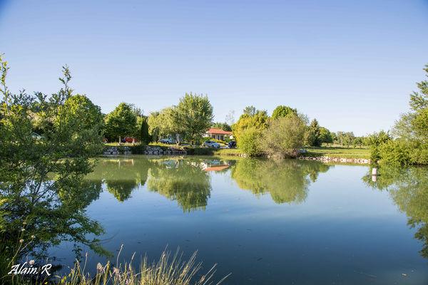 Camping Village vacances, Lac Saint Georges, Sarrecave, lac