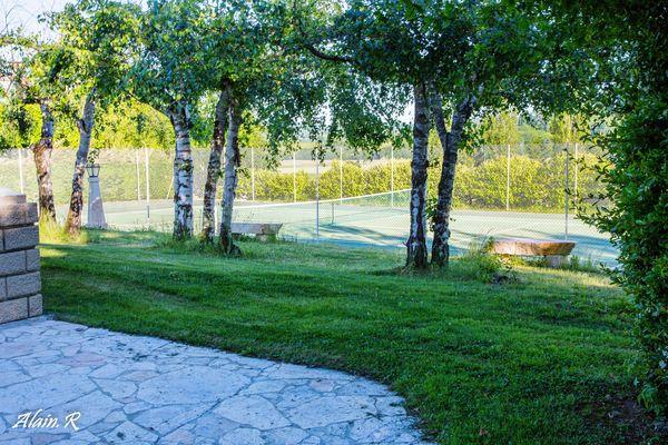 Camping Village vacances, Lac Saint Georges, Sarrecave, tennis