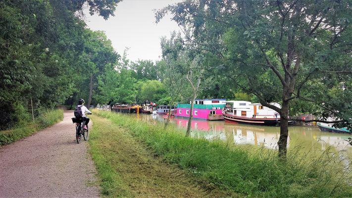 Canal à vélo Sylvaine