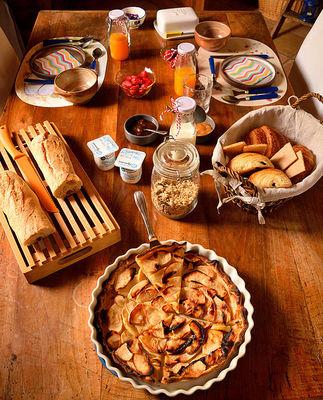 Chb hôtes La Cascadeta petit dejeuner MARIGNAC-LASCLARES