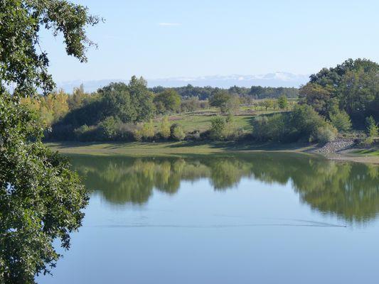 EL Lac de la Bure POUCHARRAMET