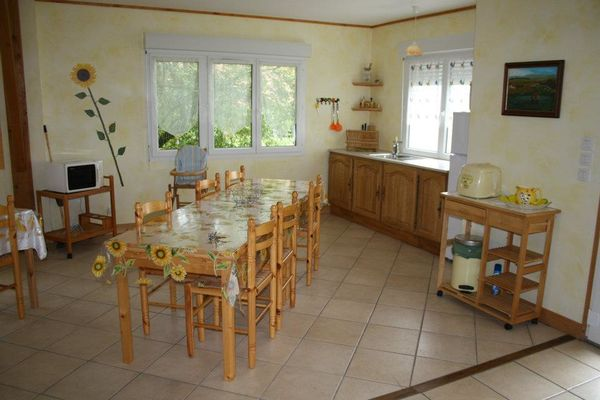 Gîte La Grange de Castelys cuisine MONES
