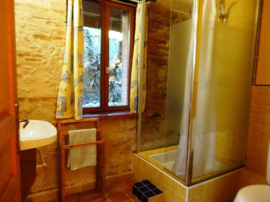 Gîte Le Soulan La Paguère Salle d'eau- Mauvezin