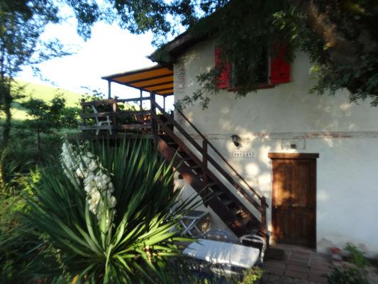 Gîte Le Soulan La Paguère Terrasse- Mauvezin