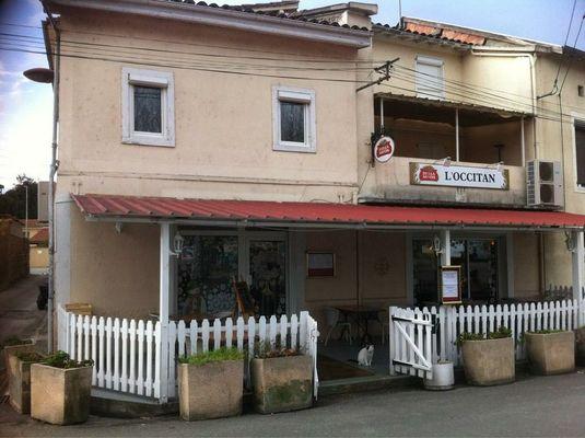 Restaurant l'Occitan CAZERES devanture