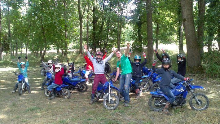 Sport's Vert Moto-Trial, Trialistes heureux CIERP GAUD