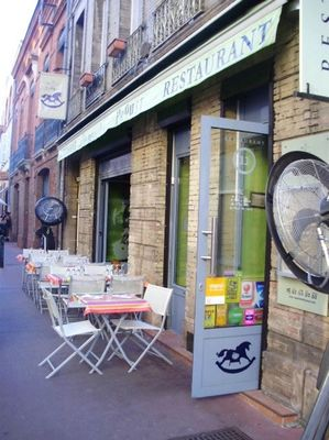 Terrasse Madeleine de Proust TOULOUSE RN