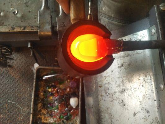 TiPii Atelier toulouse soufflage de verre chaudpetit