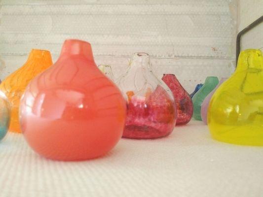 TiPii Atelier toulouse soufflage de verre initiation enfantpettit