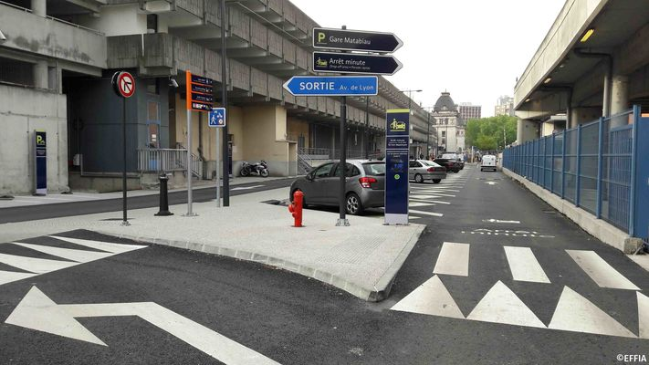 Toulouse - Parking Gare SNCF- EFFIA (4)