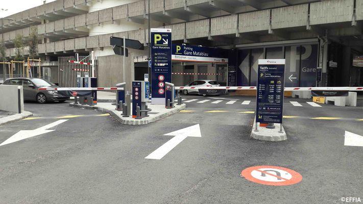 parking de la gare sncf toulouse matabiau effia stationnement parkings et stationnements. Black Bedroom Furniture Sets. Home Design Ideas