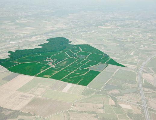 Vue aérienne chateau bellevue FRONTON
