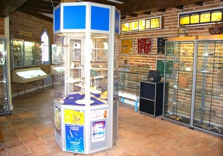 Vue générale musee archeologique VILLARES RN