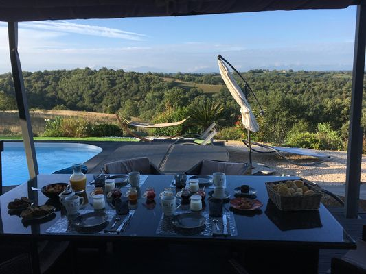 Villa d'Escane Chambres d'hôtes Escanecrabe petit déjeuner 2 Tourisme Saint Gaudens