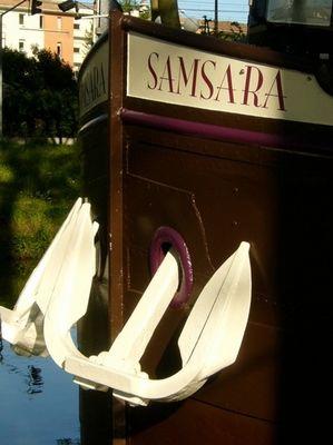 ancre peniche samsara TOULOUSE