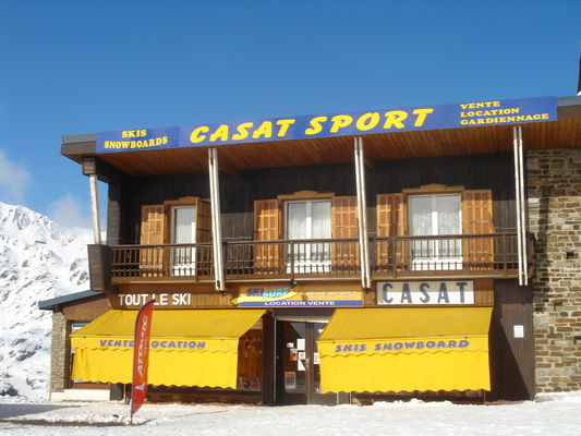 casat sport location ski superbagneres