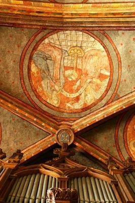 eglise - orgue - peinture - boulogne