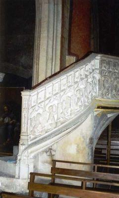éscalier - église - boulogne