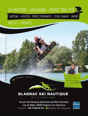 Flyer blagnac ski nautique GAGNAC SUR GARONNE