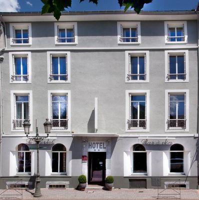 hotel-floreal-facade BAGNERES DE LUCHON