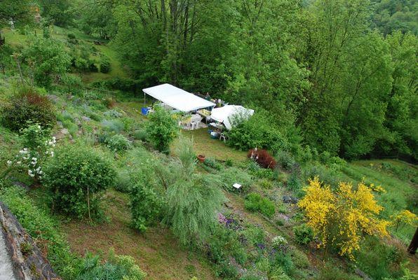 jardin botanique MELLES