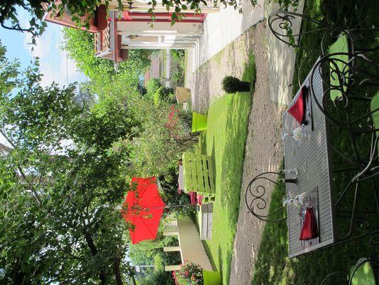 jardin hostellerie-du-parc LABARTHE