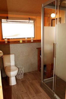 luxury lodge toilettes Pre fixe CASSAGNABERE