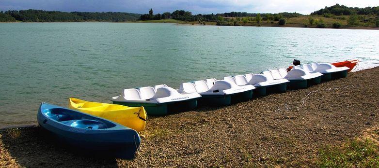 pedalo lac gimone BOULOGNE