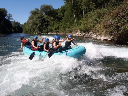 raft Pyrenees emotions MALVEZIE