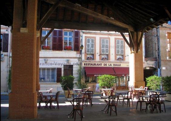 restaurant la halle RIEUX VOLVESTRE