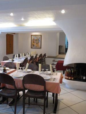 salle restaurant hotel opiddum SAINT BERTRAND