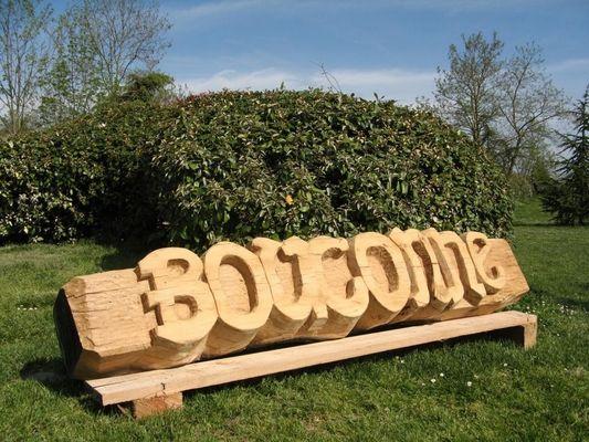 sculpture en bois bouconne MONTAIGUT