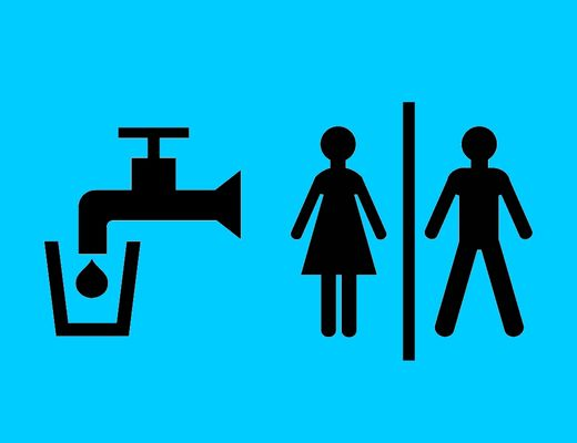 toilette et point d eau
