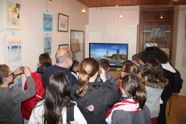 Musée phare de Cordouan - Salle 3D