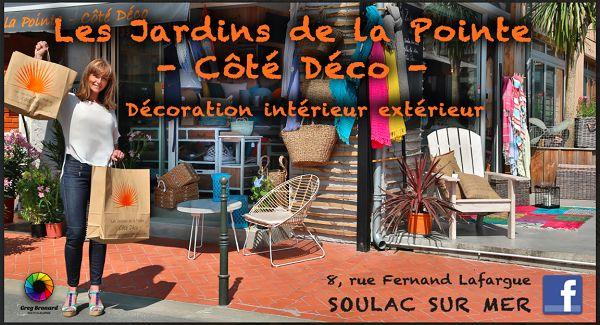 Les Jardins de la Pointe - Côté Déco -