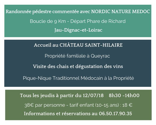 Rando gourmande - Visite du Château Saint-Hilaire 2