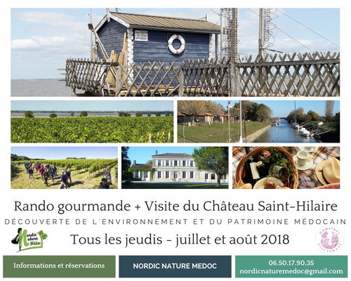 Rando gourmande - Visite du Château Saint-Hilaire