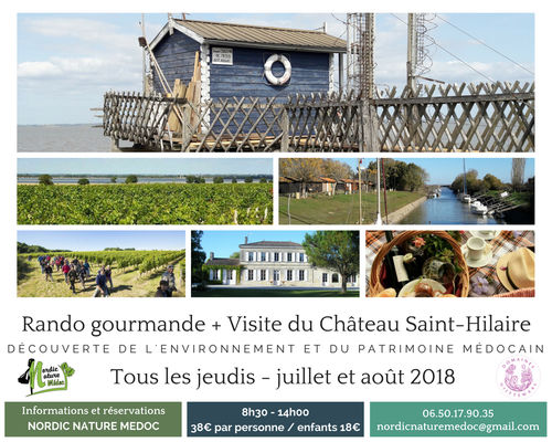 Rando gourmande + Visite du Château Saint-Hilaire