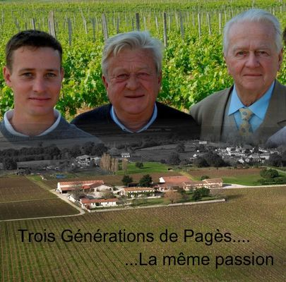 TROIS GENERATIONS - Château Noaillac