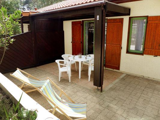 Maison avec terrasse et jardin dans résidence - Lacanau | Médoc ...