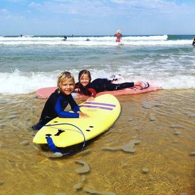 surf cours enfant lacanau - Adrien Valero