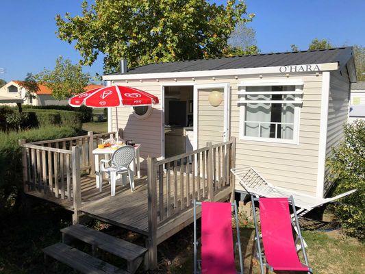 mobil-home 1 chambre-camping du Jard-la Tranche sur mer