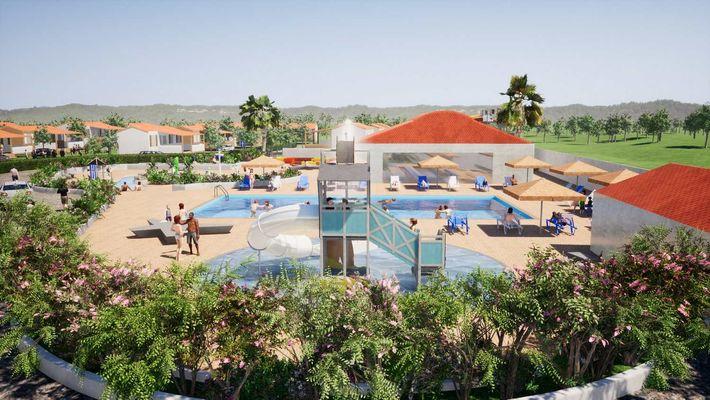 nouvel espace aquatique-camping dujard-La Tranche sur mer