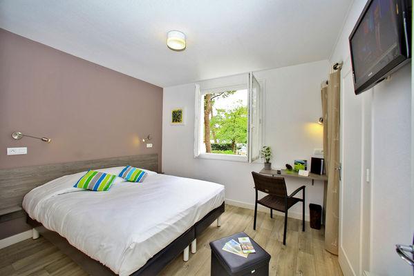 hôtel les cols verts - chambre double classique
