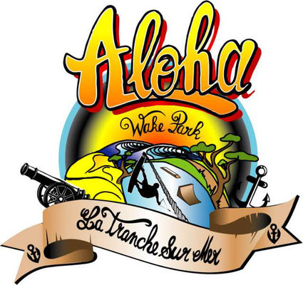 logo aloha wake park