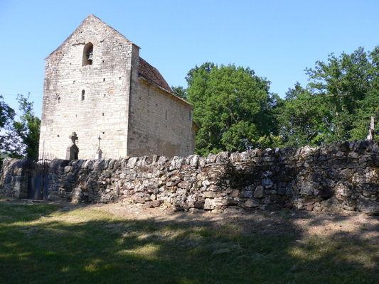 Les Arques : La chapelle Saint-André