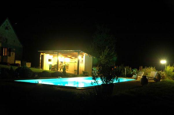 6 - Piscine nuit