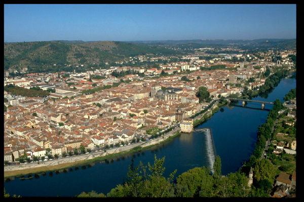 Cahors - Point de vue du Mont Saint Cyr